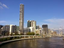 Brisbane-Skyline Stockbild
