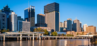 Brisbane skyline, Australia Royalty Free Stock Photos