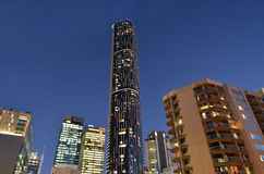 Brisbane Skyline - Infinity Tower Stock Images