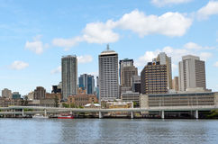 Brisbane Skyline -Queensland Australia Stock Images