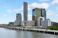 Brisbane Skyline -Queensland Australia Royalty Free Stock Photo