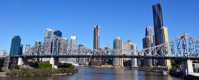 Brisbane Skyline -Queensland Australia Stock Photo