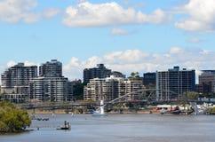 Brisbane Skyline -Queensland Australia Royalty Free Stock Photography