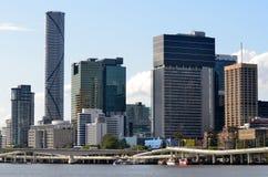 Brisbane Skyline -Queensland Australia Stock Photo