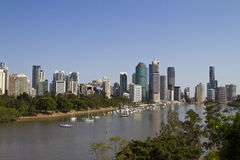 Brisbane skyline Stock Photos