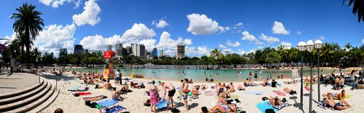 Brisbane Southbank Foto de Stock
