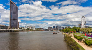 Brisbane Southbank Parklands. Queensland Australia Royalty Free Stock Photo
