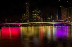 Brisbane Southbank. This picture was taken from Brisbane Southbank Stock Image