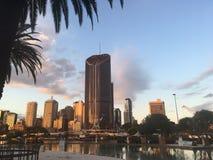 Brisbane stad Fotografering för Bildbyråer