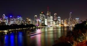Brisbane stad Arkivbild