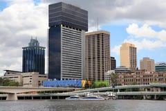 Brisbane stad, Australien Arkivfoton