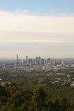 Brisbane stad från Mt Sothöna-tha Fotografering för Bildbyråer