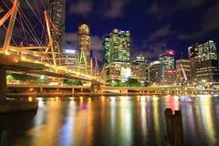 Brisbane stadsfärger Royaltyfri Fotografi