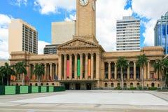 Brisbane stadshus Arkivfoto