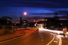 Brisbane stadsnatt Royaltyfri Bild