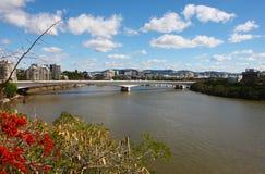 Brisbane-Stadt lizenzfreie stockfotografie