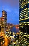 Brisbane-Stadt-Skyline Lizenzfreie Stockfotografie