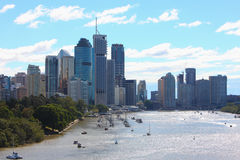 Brisbane-Stadtszenen lizenzfreie stockfotografie