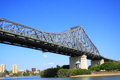 Brisbane Story Bridge Stock Photo