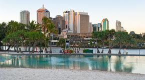 Brisbane, Streets Beach Royalty Free Stock Photos