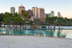 Brisbane, Streets Beach Stock Photography