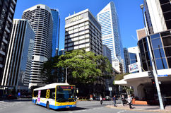 Brisbane transport - Queensland Australien Arkivbild