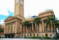 Brisbane urząd miasta Zdjęcie Stock