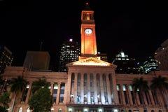 Brisbane urząd miasta - Queensland Australia Zdjęcie Royalty Free