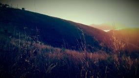 Brise de coucher du soleil Images stock