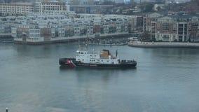 Brise-glace de la garde côtière des USA clips vidéos
