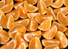 Brise orange Image libre de droits