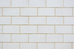 Brisen-Block-Wand Stockfotografie