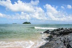 Briseur d'eau de mer Photographie stock libre de droits