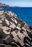Briseurs de vague au Porto Rico image stock