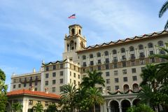 Briseurs hôtel, Palm Beach, la Floride Images libres de droits