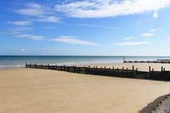 Briseurs sur la plage Photo libre de droits