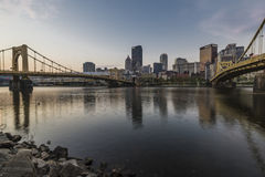 Brisges of Pittsburgh Royalty Free Stock Photography