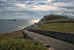 Brisons bij Kaap Cornwall Cornwall het Verenigd Koninkrijk Royalty-vrije Stock Afbeeldingen