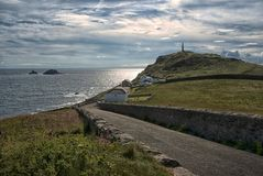 Brisons at Cape Cornwall Cornwall United Kingdom. Brisons offshore at Cape Cornwall Royalty Free Stock Images
