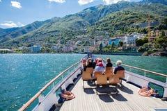 Brissago, Switzerland – JUNE 24, 2015: Passengers will enjoy t Stock Photography
