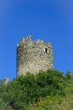 Brissogne castle ruins Stock Images