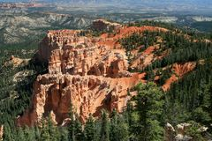 Bristlecone Loop Bryce Canyon 4 Stock Photo