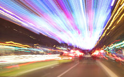 Bristning av ljus Fotografering för Bildbyråer