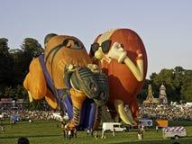 Bristol Balloon Festival Fotografia Stock