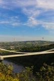 Bristol Balloon Fiesta & Clifton Bridge Stock Photography