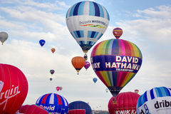 Bristol Balloon Fiesta 2015 het UK Royalty-vrije Stock Foto