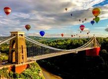 Bristol Balloon Fiesta stock images