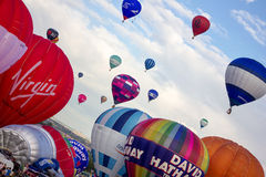 Bristol Balloon Fiesta 2015 UK Royalty Free Stock Images