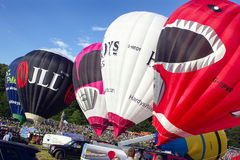 Bristol Balloon Fiesta 2015 UK Royalty Free Stock Photo
