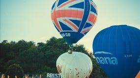 Bristol balonów zamknięty up Obrazy Stock